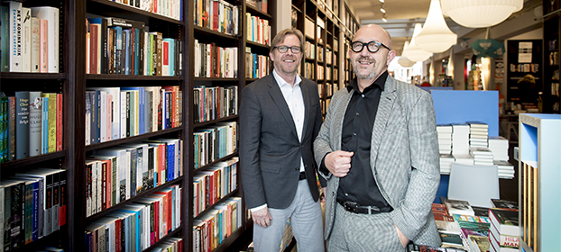 Ad Peek, Boekhandel van der Velde en Robbert Schuurmans, CB