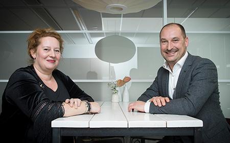 Jacqueline Remmers, VBK en Emiel van Bockel, CB
