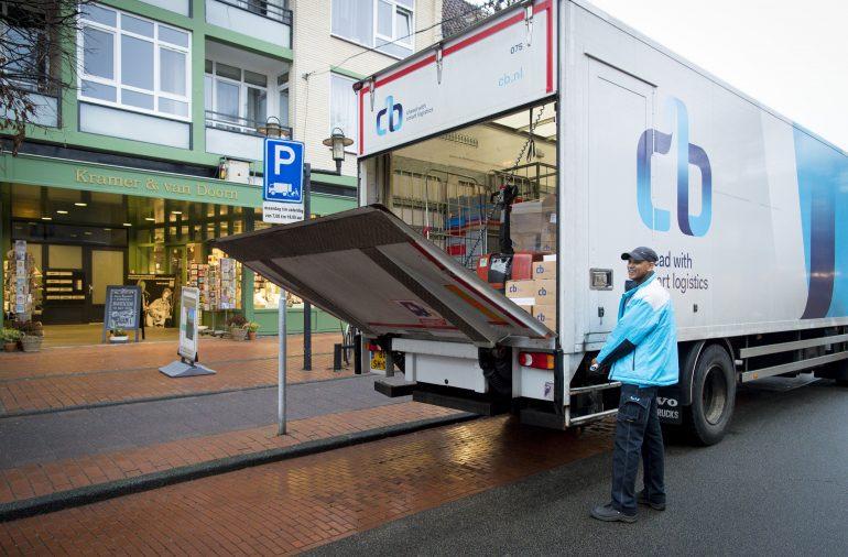 Vrachtwagenchauffeur Zele (België)