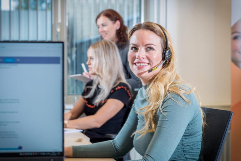 Customer Service professional met zorgaffiniteit
