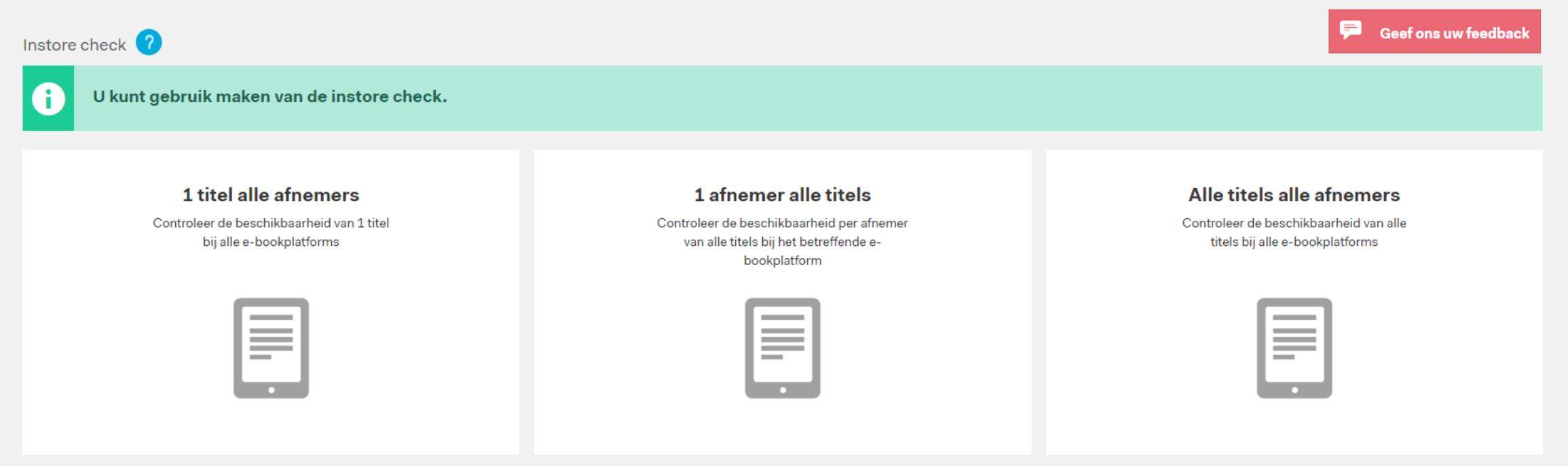 Nieuwe functionaliteiten in CB Online Uitgeverij