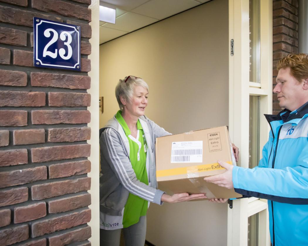 Logistiek voor patiënt en zorgverlener